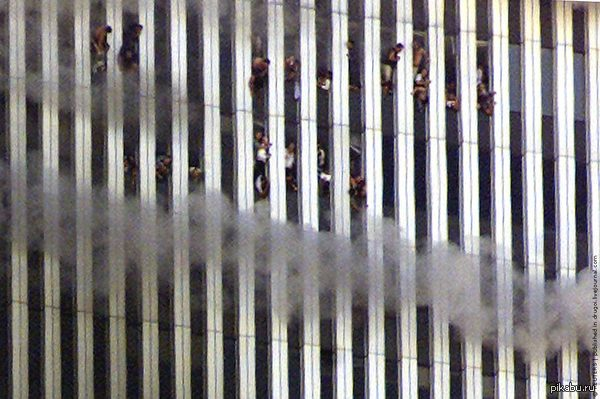 911 Jumpers from the World Trade Center still provoke