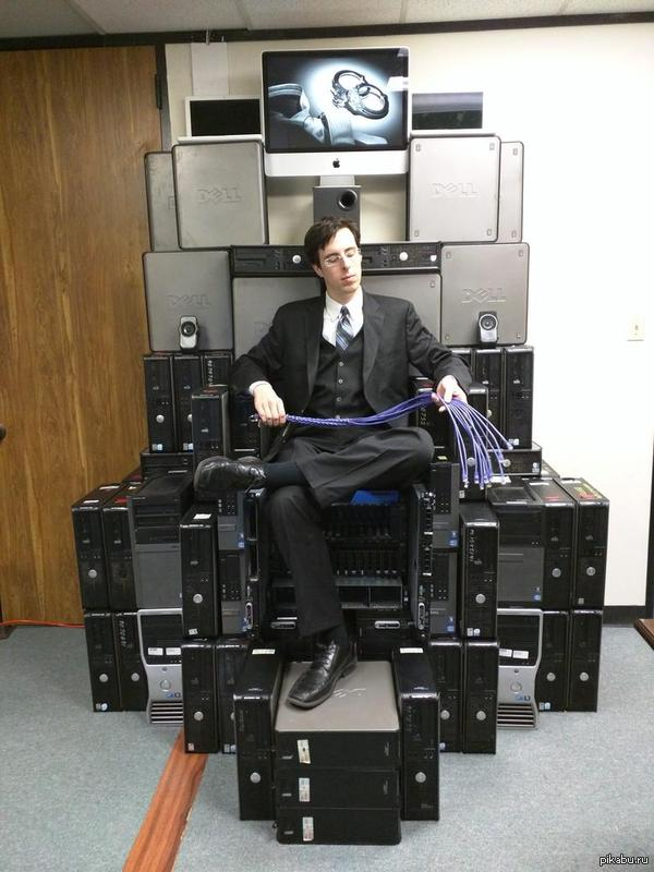 Geek throne Game of The System Administrators