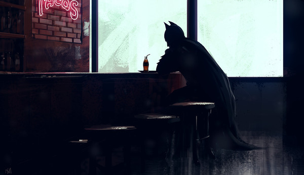 Lonely Day. Batman Edition