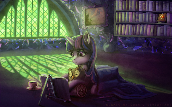 Reading my little pony, twilight sparkle, owlowiscious