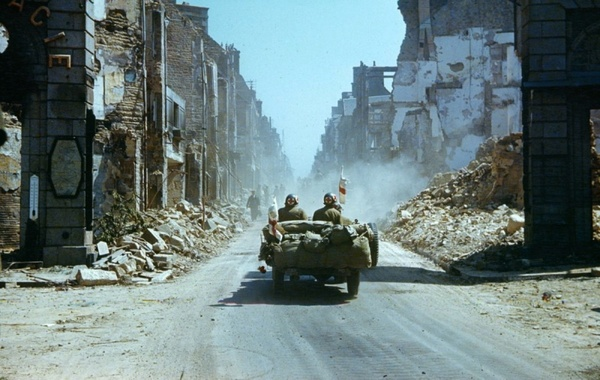 DDay Color Photos of the Ruins of Normandy  Timecom
