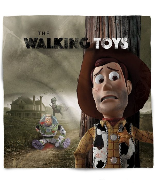 The walking toys...