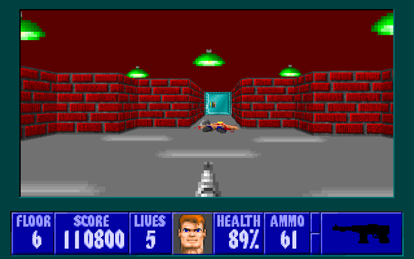 Wolfenstein 3D и Wolf4SDL ретрогейминг, DOS, Apogee, windows, wolfenstein, длиннопост