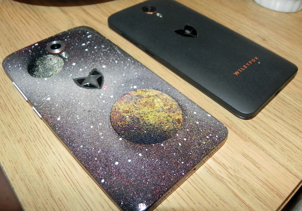 ���������� Wileyfox Swift Wileyfox, swift, �������, spray art, ���