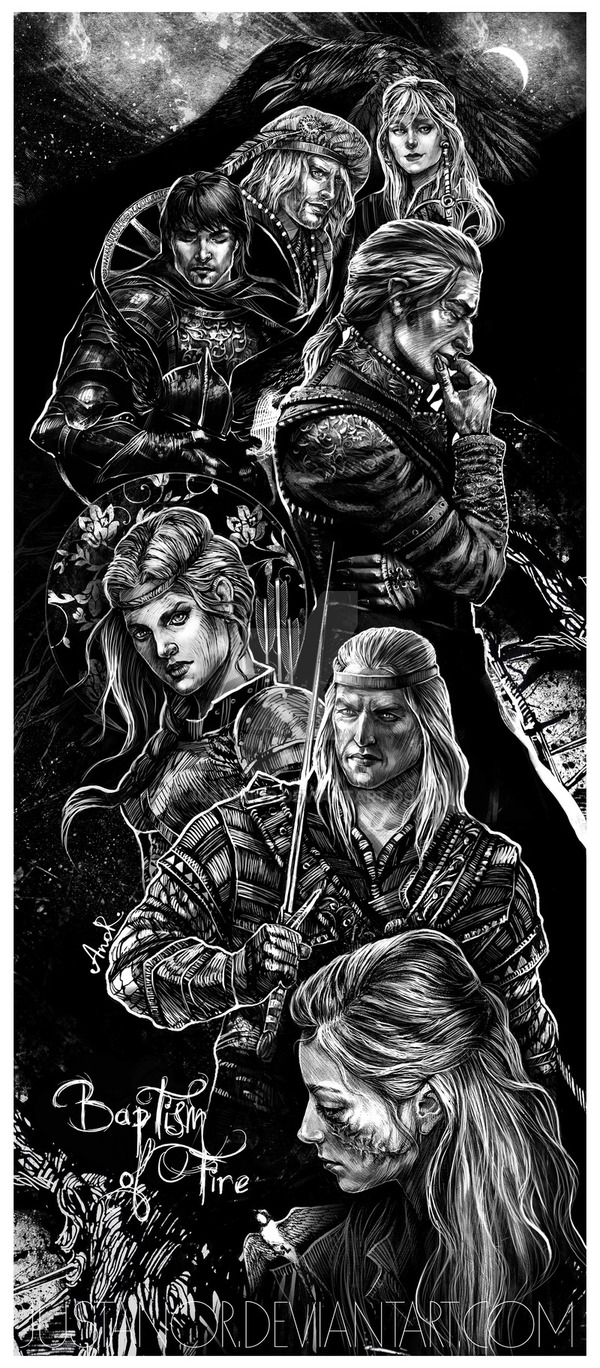 Baptism of Fire characters collage by JustAnoR �������, �����, ������ �����������, ���, ����, ������� �� �����