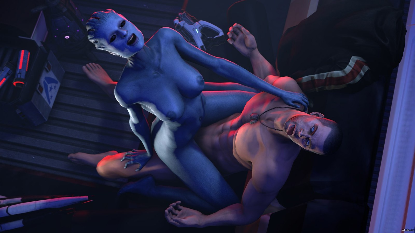 Naked mass effect characters pics pron photos
