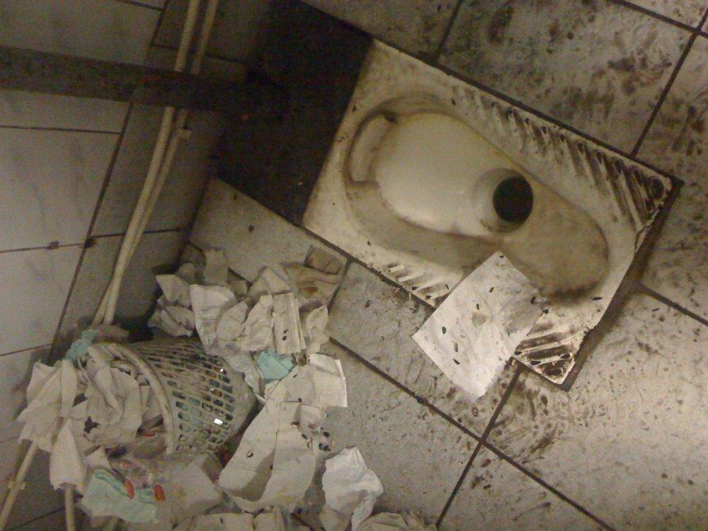 Армейский туалет парни