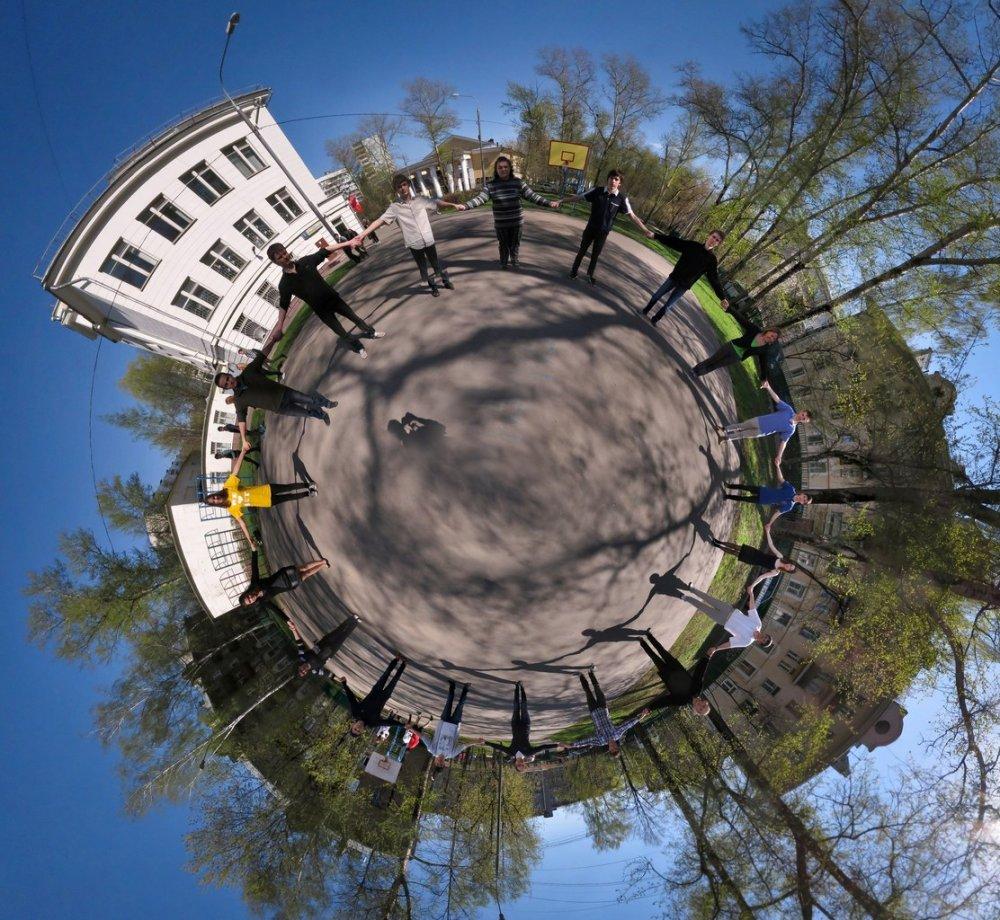 Как сделать из панорамы круговую 89