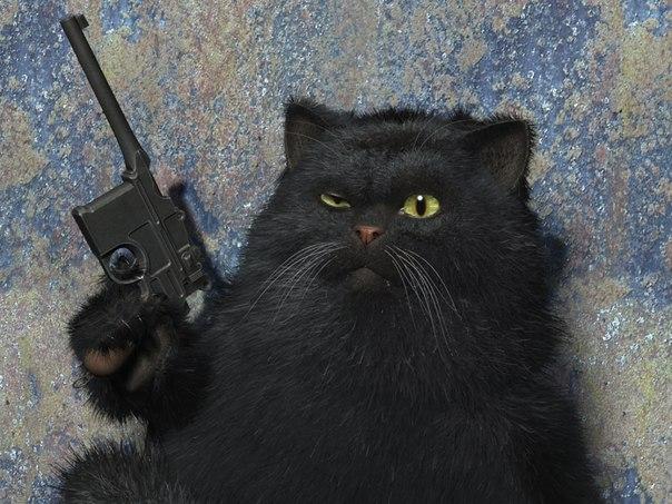 Кот утробным голосом что это