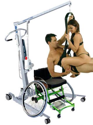 Позы для секса инвалида и здоровой девушки