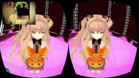 Внезапно о_О Oculust Rift + MikuMikuDance