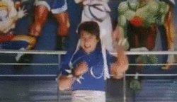 В поддержку недели Джеки Чана Мой любимый момент детства:)