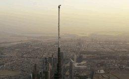 Прыжок с самого высокого здания в мире.Бурдж-Халифа,Дубай