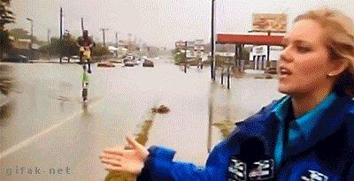 Наводнение? Не, не слышал