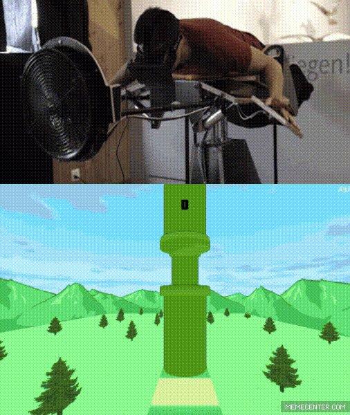 Oculus rift и flappy bird