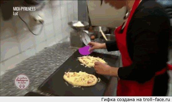 Реклама хлебобулочной во Франции Бедный кот :(