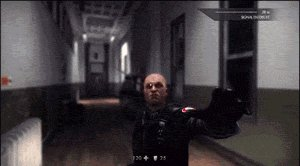 """Реалистичная"" драка на ножах (Wolfenstein)"