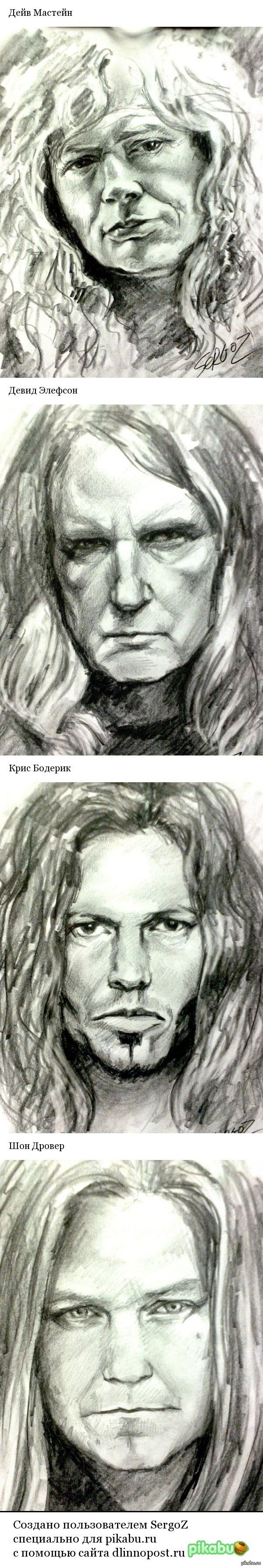 Megadeth Портреты