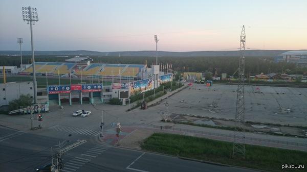 Белые ночи. Якутск. А как вы спите? :(