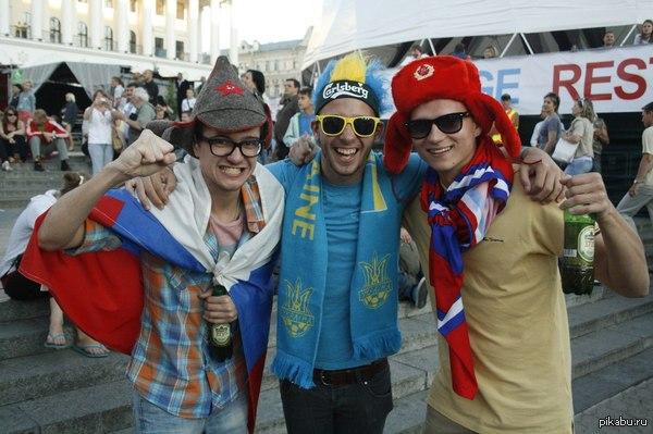 Как же я хочу,чтобы всё снова стало так... Фото с Майдана образца Евро-2012