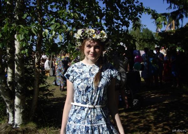 российские деревенских девушек