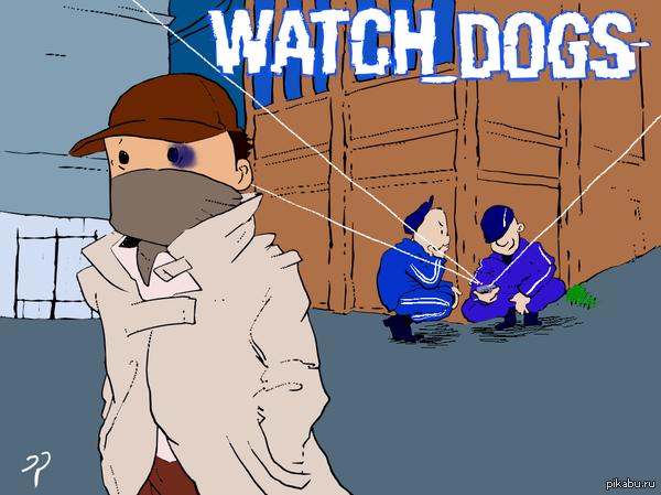 Watch_Dogs Фан-арт