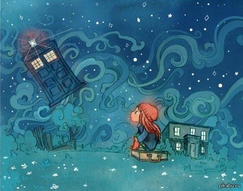 Эми и Доктор девочка, которая ждала...