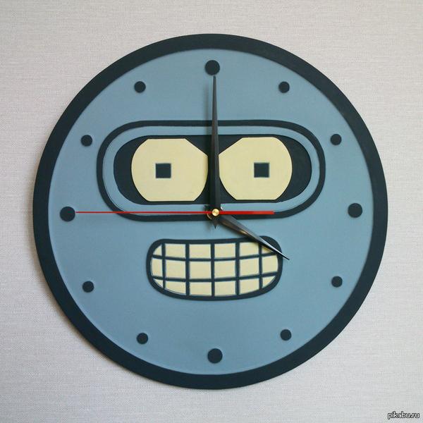 Настенные часы Самое время для блэк-джека и шлюх