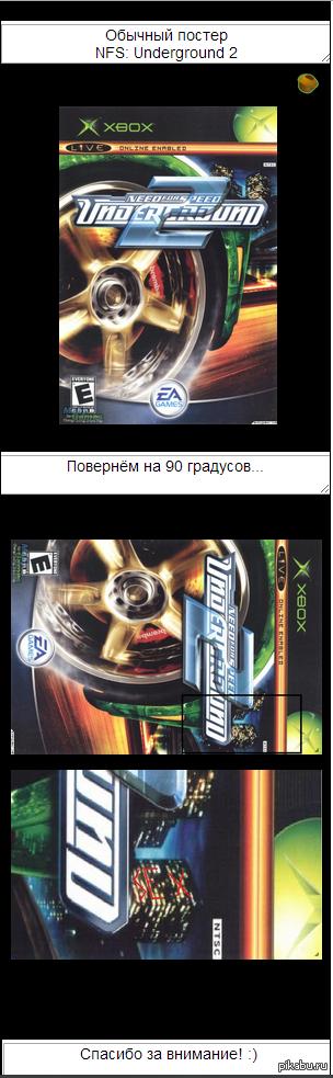 Игры разума или Почему нам понравился Need For Speed: U2