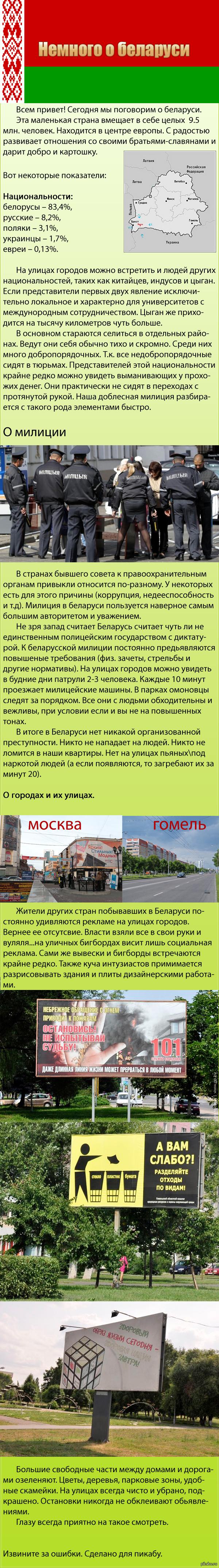 Немного о Беларуси