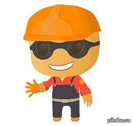 Пикабу порадовал))) Вот такую печеньку случайно заметил) Спасибо Пикабу!))  Всех строителей так же поздравляю с нашим наступающим профессиональным праздником)