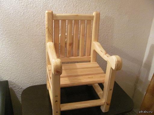 Вот такие стульчики я делаю для детей. (ХОББИ)  На Ваш суд. Я программист. Хобби.