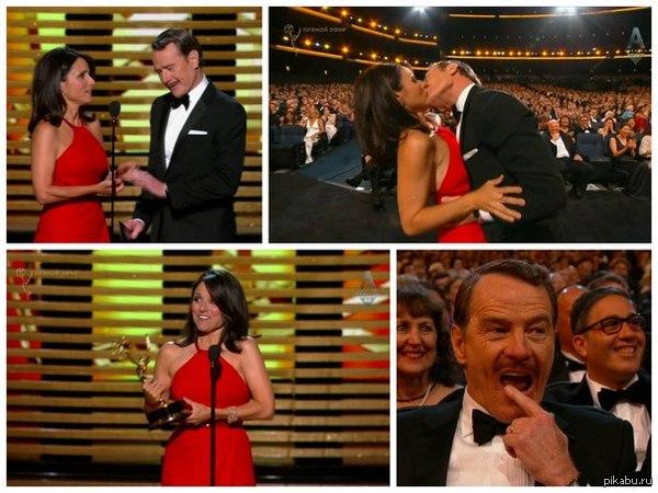 Старина Брайан Крэнстон Премия Эмми 2014. Лучший актёр в драматическом сериале.