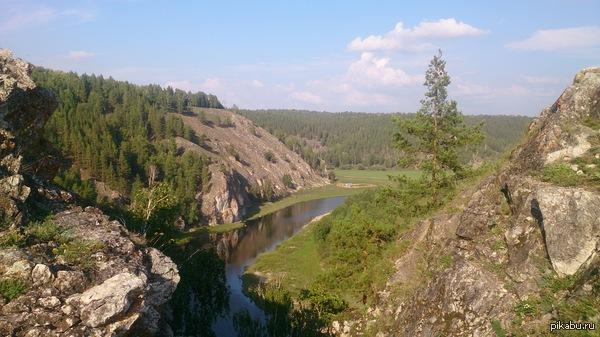 Природа Башкирии В Уральских горах, Бурзянский район
