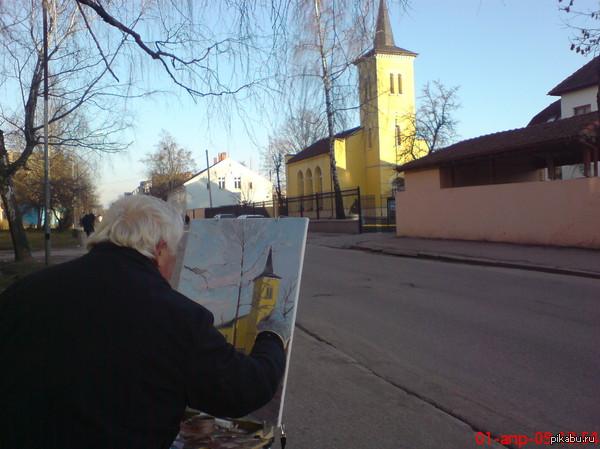Мой город..(Из старых фото) Город-это не только улицы,дома,дворы..Город-это люди, которые любят и делают его лучше...  Самый красивый город Калининградской области.