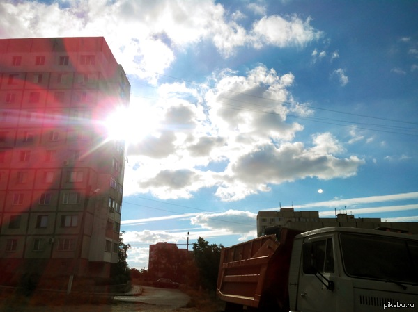 Утренее моё! Крым,Керчь ул. Индустриальное шоссе фоткал не на тапок, fly 451 quattro (без фотошопа и всякой лабуды)