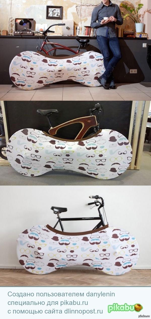 """""""Носок"""" для велосипеда хотя больше похоже на трусы"""