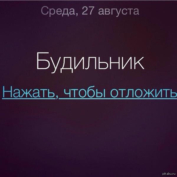 И так каждое утро)))