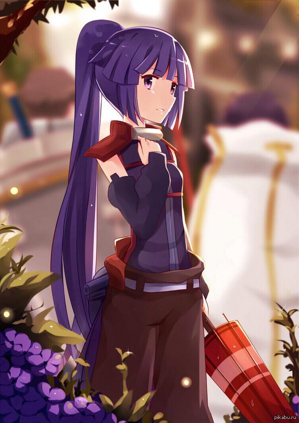 Арт: Акацуки из аниме Log Horizon