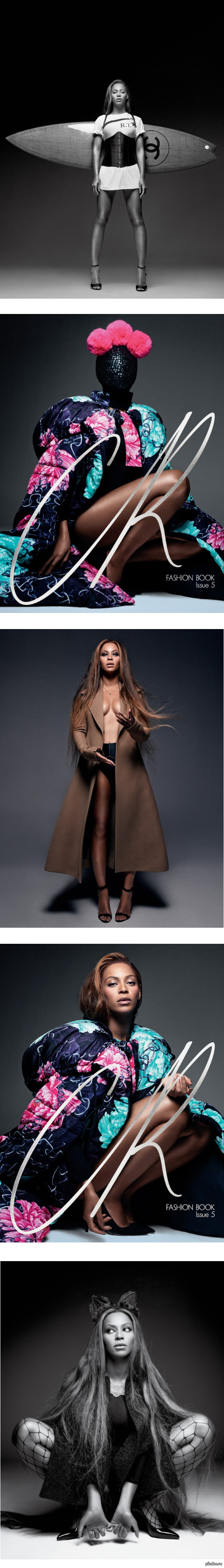 Beyonce снялась для издания CR Fashion Book