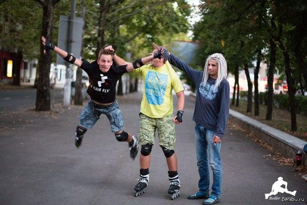 I believe i can fly Симферопольские роллеры :)