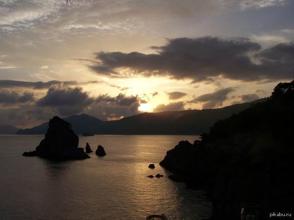 Ещё немного природы Италия. Остров Капри.