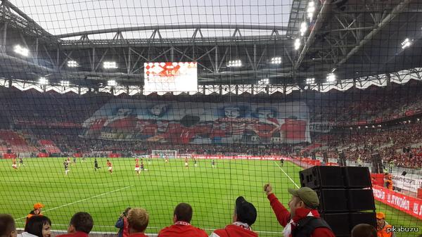 Всех красно-белых с открытием стадиона, наконец мы этого дождались. Стадик очень понравился, организация ещё хромает, но это не главное.