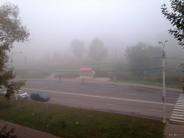 Туман Silent Hill теперь и в нашем городе.