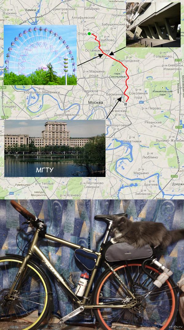Моя велодорога на работу И мой транспорт - гибридный велосипед. 17 километров - чуть меньше часа от двери до двери. http://www.strava.com/activities/195364660