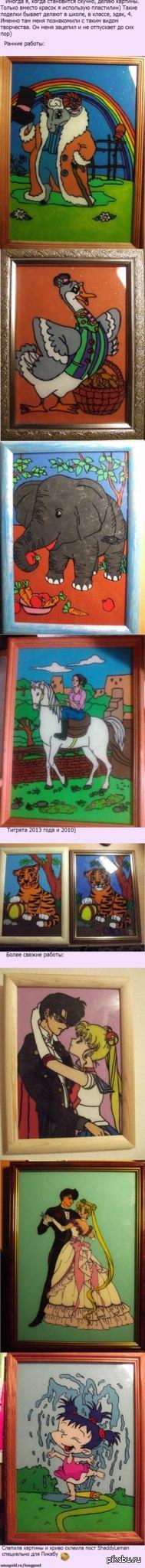 Картины из пластилина)