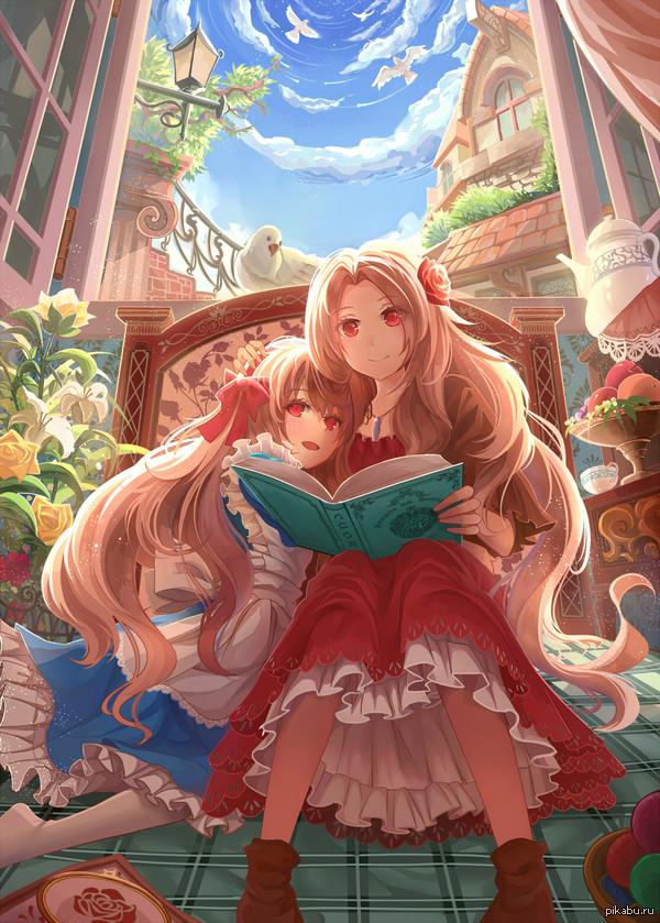 Мать и дочь Козакура Мари и Шинон
