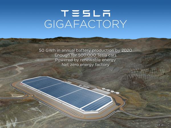 Гигазавод Тесла будет построен в Неваде Не у дел остались Аризона, Калифорния, Нью-Мексико и Техас. Удачи в следующий раз.