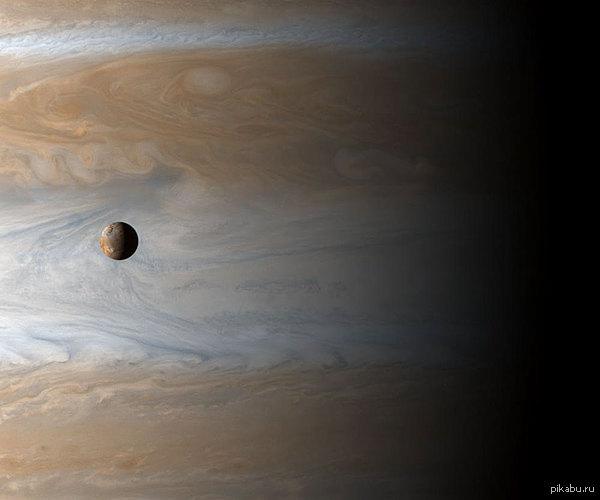 Юпитер и его спутник Ио