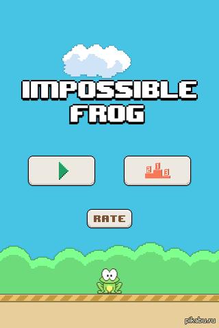 """Решил сделать из старого прототипа игру в духе """"flappy bird"""". Получилось вот что: http://play.google.com/store/apps/details?id=com.ursinepaw.impossiblefrog"""